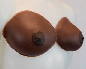 aphrodite breastforms chocolate skintone